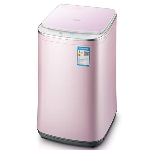 YLFF Tragbare Minirolle, Waschmaschine mit großer Kapazität, Waschmaschine und Schleudertrockner MIT/Schlauch, 3 kg Tragfähigkeit, mit Abfluss, eingebauter Magiefilterbox