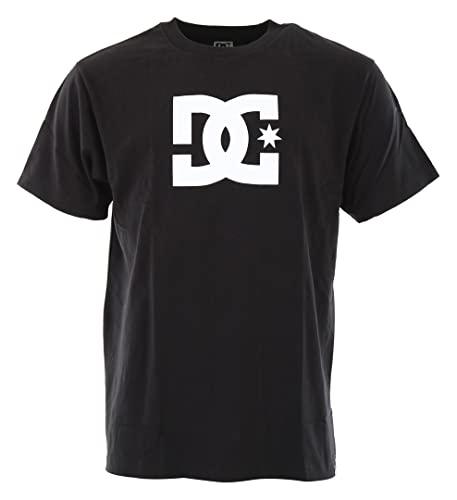 DC Shoes Star - Camiseta Para Hombre Camiseta, Hombre, black, M