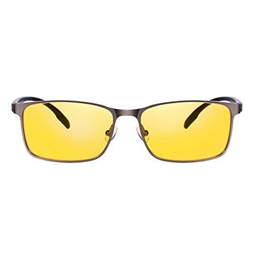 PRiSMA LiMBURG EASY Blaulichtfilter-Brille -Gaming, E-Sport, TV und Tagarbeit ohne Kopfschmerzen- LB702