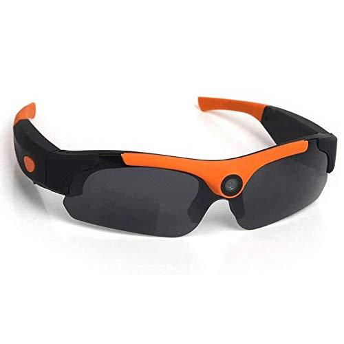 Adesign Inalámbricas Bluetooth Audio Gafas de Sol, Mini DV grabadora de vídeo Manos Libres Bluetooth for Auriculares de conducción Gafas, Lentes polarizadas Gafas
