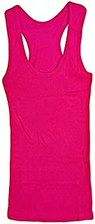 Beecool Bc-Cl-Tank-12-003Rp Tank Top For Women - Free Size, Rose Pink