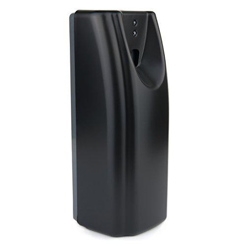 Kommerzieller Waschraum-Lufterfrischer automatisch mit Tag- / Nacht-Sensor - Für Bad/WC - WR-CD-6101 (Schwarz)