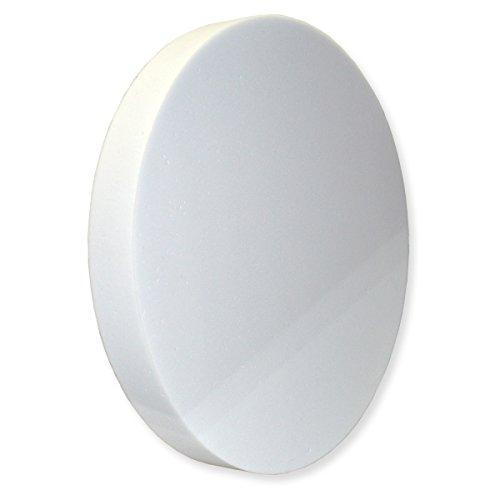 Manufactur Schaumstoffe Wegerich Kreis aus BASOTECT® weiß Ø 50cm x 6cm