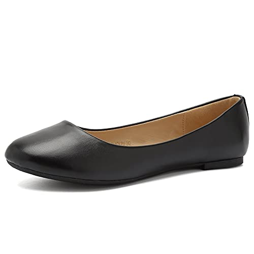 Top 10 best selling list for black matte flat shoes
