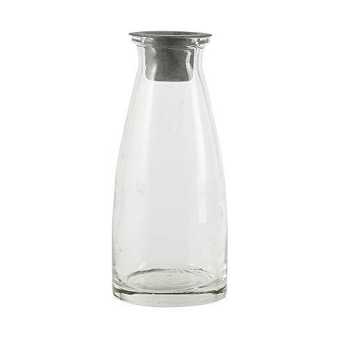 Ib Laursen - Kerzenhalter Flasche für Stabkerzen - Glas - Höhe 13 cm
