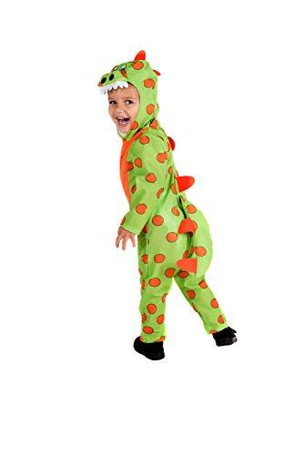 Fun Shack Grünes Dinosaurier Kostüm für Kleinkinder - S