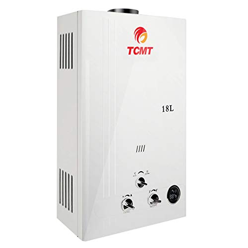 TC-Home 18L Propane Gas Water Heater Tankless 4.8GPM Instant 36KW LPG Hot Water Heater