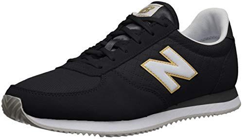 New Balance Wl220tpb, Zapatillas Mujer, Negro (Black/White Tpb), 37.5 EU