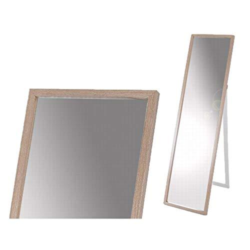 Gerimport Espejo de pie Natural Medidas 33x4x122 cm