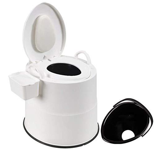 Pratico Comodo WC da Campeggio WC di Emergenza Mobile, WC da Campeggio Mobile, Comodo Sedile del Water per Campeggio, Spiaggia, Escursionismo (Colore: 3, Dimensioni: 1 barile Cavo) Facile da Usare