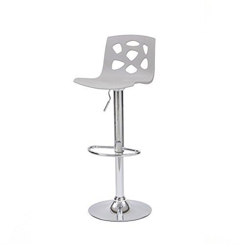 Moderner Barhocker - Cribel Manchester Sgabello - Metallic, Grigio
