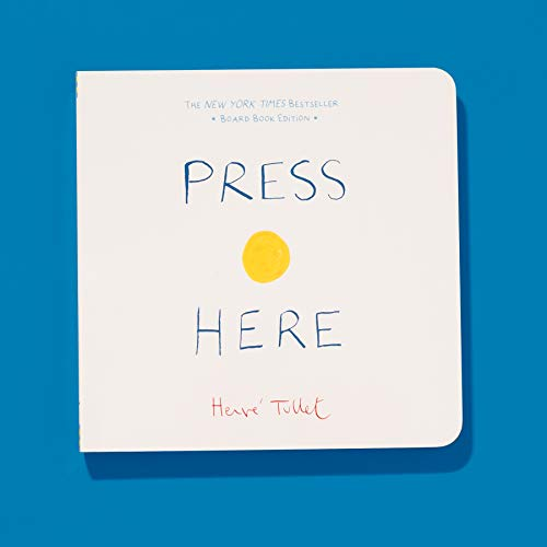 Press Here: (Baby Board Book, Learning to Read Book, Toddler Board Book, Interactive Book for Kids)