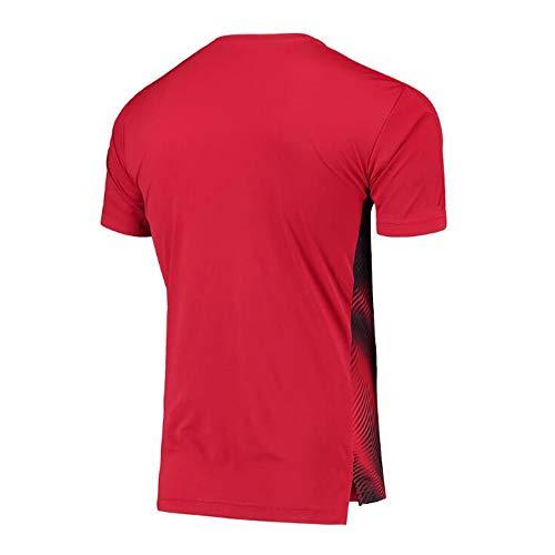 Camiseta Futbol Estadio Personalizado Fútbol del Jersey De Milán-roja, Se Puede Añadir Su Nombre Y Número for Crear Su Propia Camiseta