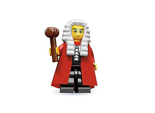 LEGO Figurines à Collectionner: Juge Mini-Figurine (Série 9)