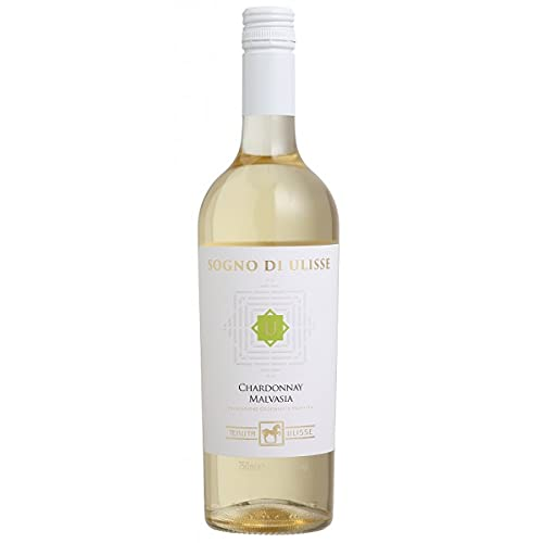 Vinho Sogno di Ulisse Chardonnay Malvasia IGP 750ml
