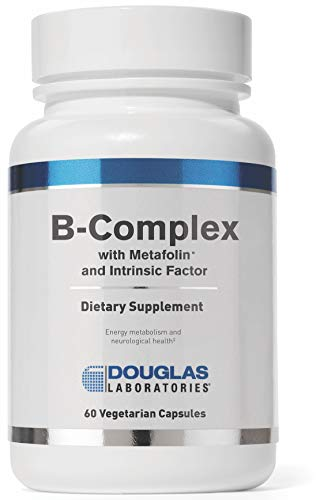 Douglas Laboratories - B-Complex w/ Metafolin - Supports Blood Cells, Hormones, and Nervous System - 60 Capsules