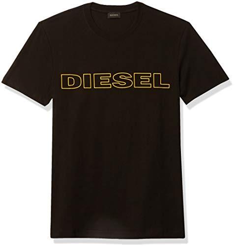 Diesel Herren UMLT-JAKE T-SHIRT Unterhemd, schwarz, X-Large