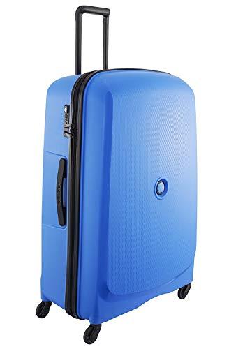 Delsey Reise Trolley Belmont Blau 76 cm Hartschale Koffer Bowatex