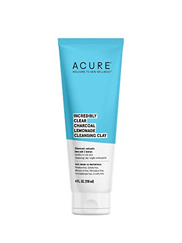 ACURE Brightening Cleansing Gel | 100% Vegan | For A Brighter Appearance | Pomegranate, Blackberry & Acai - Antioxidant- Rich & Super Gentle | All Skin Types | 4 Fl Oz