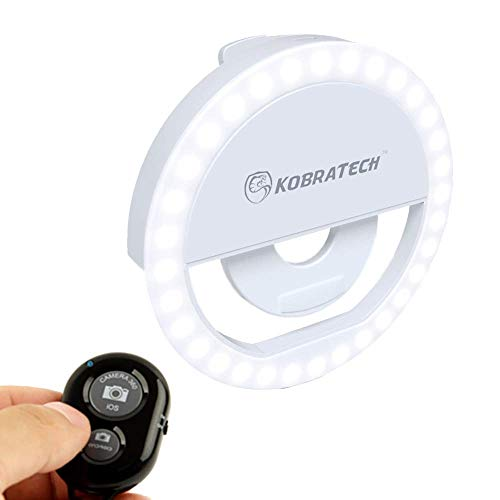 Our #6 Pick is the KobraTech MiLite Selfie Ring Light