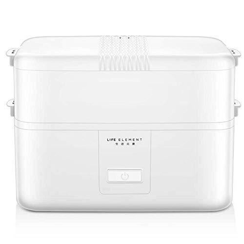 lunch box Frasco de Alimentos multifunción Frasco de Comida eléctrico de cerámica termostático a Prueba de Fugas,para el Empleado de Oficina Caja de Almuerzo de Aislamiento calentado. Estilo C