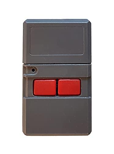 CLEMSA MTH2 Compatible con Clemsa MT1 y MTH2 - Mando Garaje Original Puertas Garaje - Configuración por Switches o Pestañas