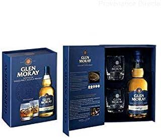 Glen Moray Classic Single Malt Whisky mit 2 Tumblern 0,7 Liter