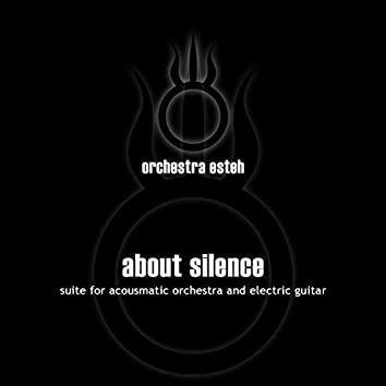 ABOUT SILENCE suite for acousmatic orchestra and electric guitar