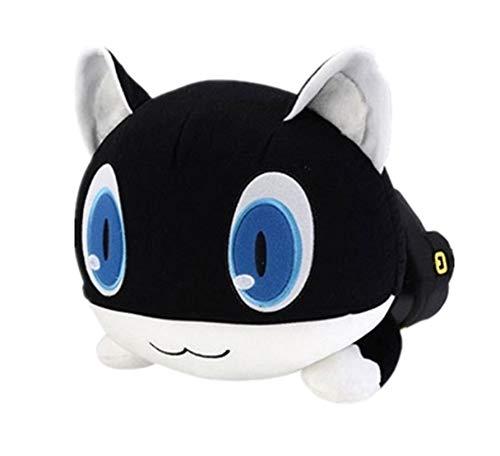 asdfkong Plüschtier Persona 5 Die Animation Schwarze Katze Anime Figur Cosplay Plüschpuppe Hochwertige Kissen 50cm