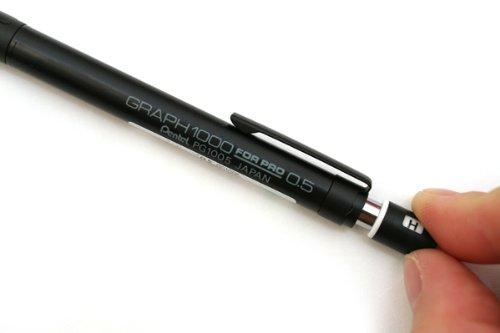 『ぺんてる 製図用シャープペンシル 0.5mm グラフ1000フォープロ PG1005 【5本セット】』のトップ画像