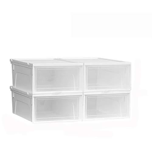 Kinderboeken Opslag container met een transparante deksel, hoge belasting Storage Box Woonkamer Slaapkamer Storage Box Toy briefpapier Storage Cube Multicolor Geschikt voor studentenflat