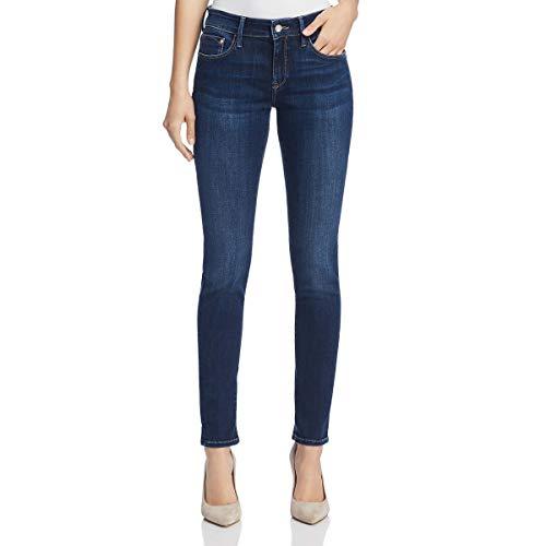 Mavi Women's Alexa Mid-Rise Skinny Jeans, Dark Supersoft, 28W X 28L