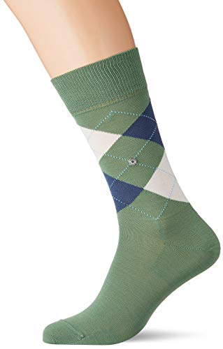 BURLINGTON Herren Socken Manchester - 85% Baumwolle, 1 Paar, Grün (Hunter Green 7748), Größe: 40-46