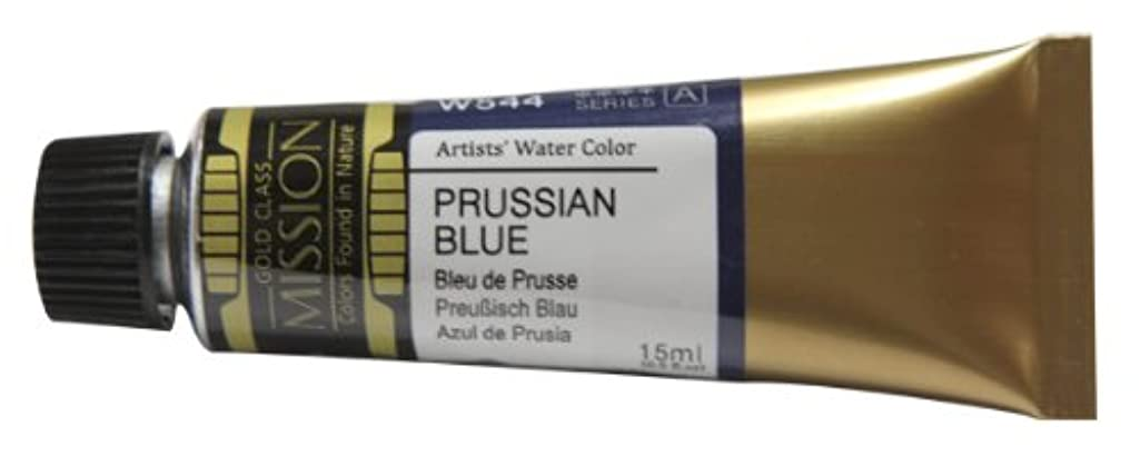 Mission Gold Water Color, 15ml, Prussian Blue