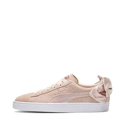 Puma Sneakers Suede Bow Val Wn's Beige Bianco 367609-01 (40.5 - Beige)