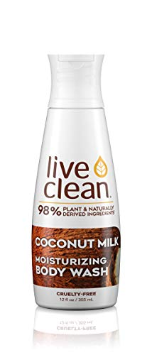 Live Clean Coconut Milk Moisturizing Body Wash, 17 Fluid Ounce by Live Clean