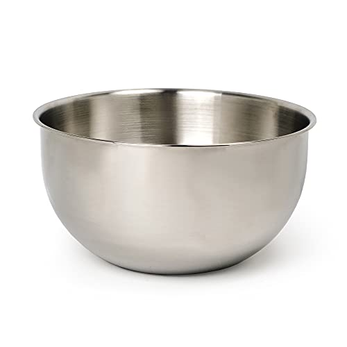 RSVP Endurance 18/8 Stainless Steel 8-Quart Mixing Bowl