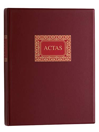 Multifin 4032335 - Libro de actas, 100 hojas cambiables