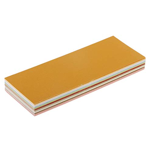 Manyao Shimmer Paper - 50 Pack - Metallic Cardstock Papers, Double Sided, Printer - for Weddings, Baby Showers, Birthdays, Craft, 160x60mm Sheets, 10 Colors