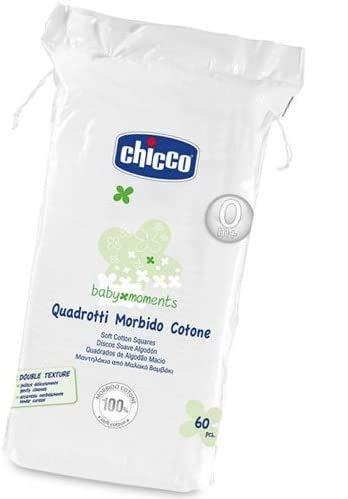 Chicco Quadrotti morbido cotone 720pz (60x12confezioni)
