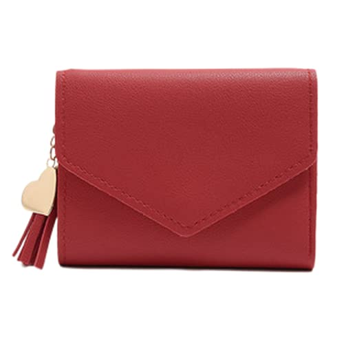 Wallet, Ladies Small Wallet, Streaming, PU Cuero, diseño de Hebilla, Puede acomodar el Cambio, la Tarjeta de identificación, etc