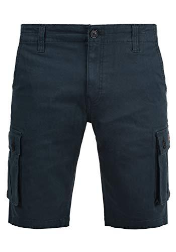 !Solid Laurus Herren Cargo Shorts Bermuda Kurze Hose Aus 100% Baumwolle Regular Fit, Größe:3XL, Farbe:Insignia Blue (1991)