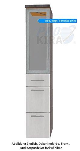 PURIS Cool Line armadio alto (hna093b5ml/R) Mobile da bagno, 30cm