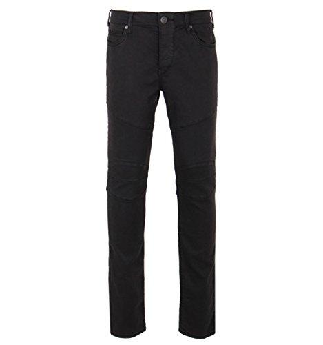 True Religion Rocco Black Biker Relaxed Slim Fit Jeans-31\