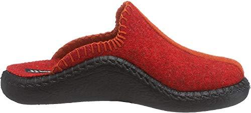 Romika Unisex-Kinder Mokasso 62 Pantoffeln, Rot Rot Orange 478, 35 EU
