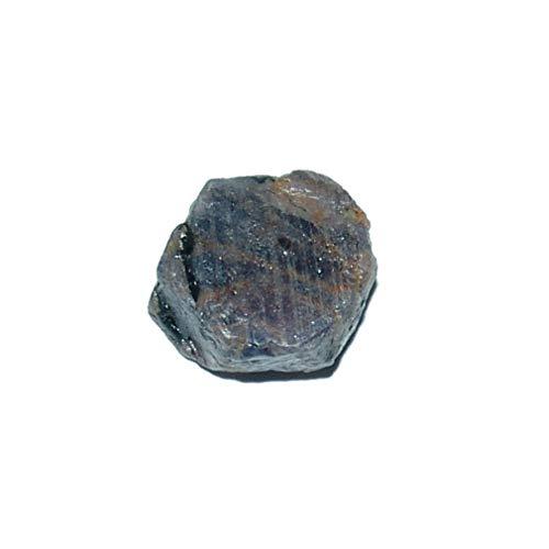 Saphir kleiner Rohstein Rostück schöne lila blaue Farbe ca. 15-20 mm Super A*Qualität aus Sri Lanka