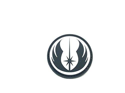 ACM Star Wars Order of Jedi PVC Airsoft Paintball Klett Emblem Abzeichen Schwarz