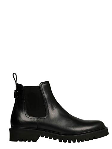 Valentino Luxury Fashion Herren SY0S0C67HIE0NO Schwarz Stiefeletten | Herbst Winter 19