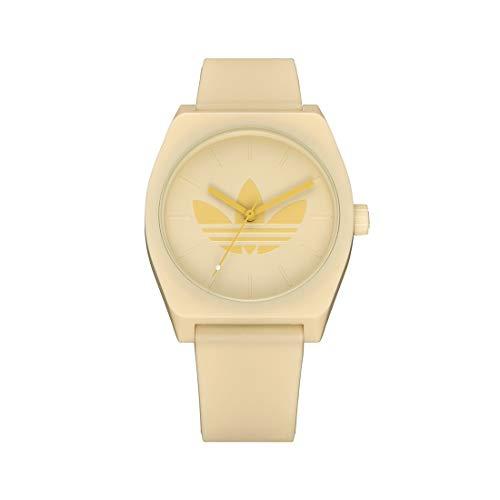 Adidas Unisex Analog Quarz Uhr mit Silikon Armband Z10-3268-00