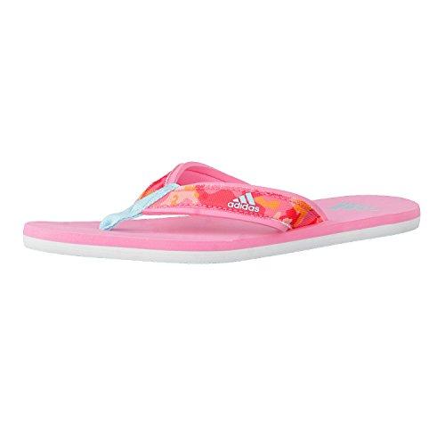 Adidas S80628, Chanclas Infantil, Rosa (Rossen/Agucla/Rosbas), 36 EU